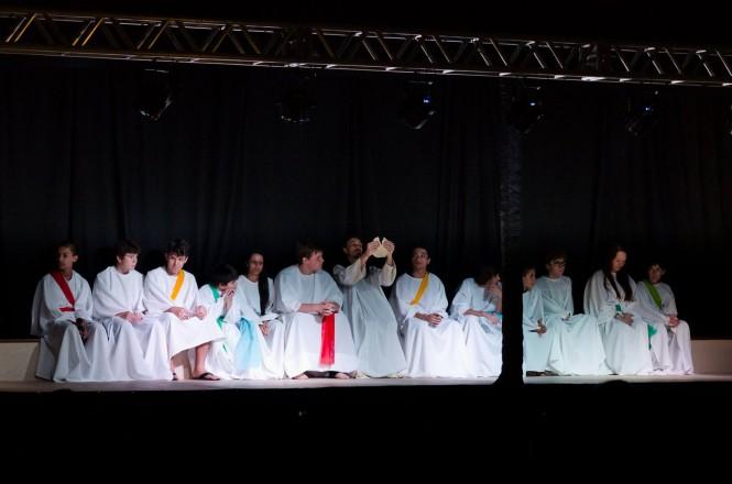 Celebração de Páscoa - Colégio São Francisco