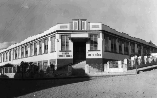 Colégio Franciscano Santo Inácio - anos 50