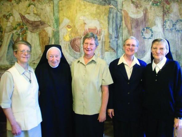 Conselho Geral da Congregação das Irmãs Franciscanas de Ingolstadt - 2010