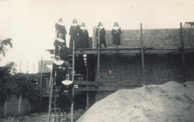 Construção do Consa - 1947