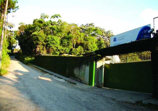 Colégio Franciscano Santa Clara, localizado em Parelheiros - São Paulo/SP