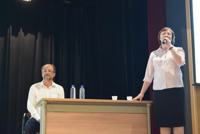 Ir. Murad e Ir. Priscilla Rossetto (Diretora do Consa)