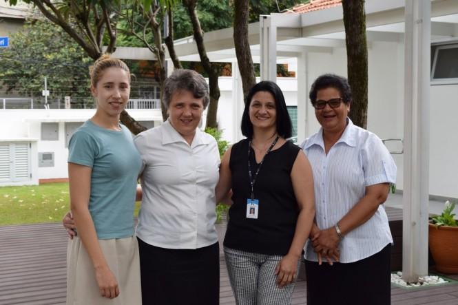 Ir. Josiana Almeida, Ir. Pelacia Schneider, Marcela Mortari, Ir. Lidia Nascimento