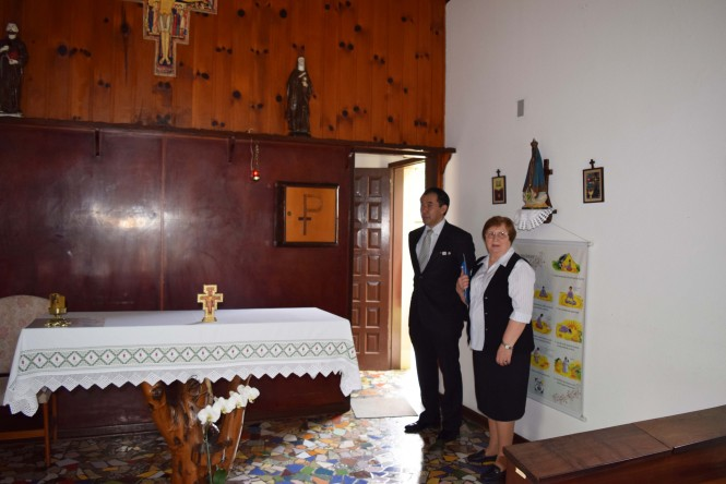 Cônsul Geral do Japão em visita à unidade.