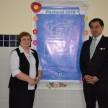Diretora-Presidente da ACF Irmã Romana Rossetto e o Cônsul Geral do Japão Sr. Yasushi Noguchi.