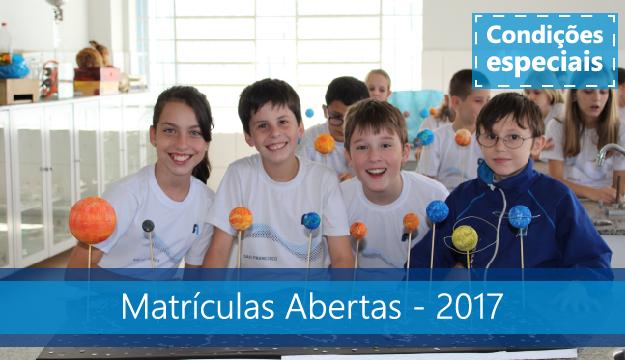 matriculas_abertas_2017_sao francisco
