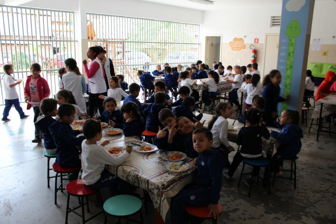 Refeitório do Colégio Franciscano Santa Isabel