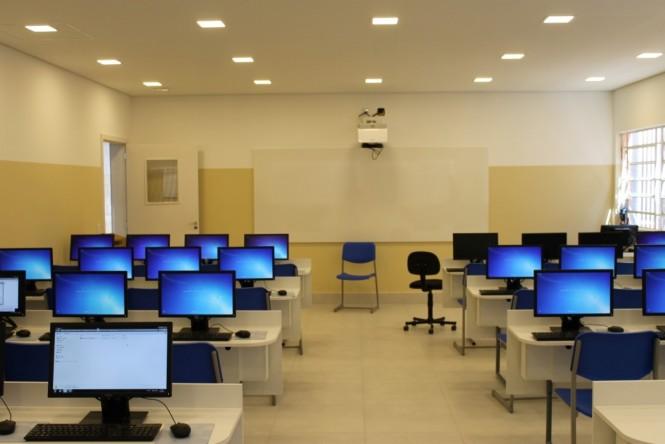 Novo laboratório de informática