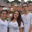 Estudantes do Consa no Colégio Santa Isabel