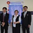 Vice Cônsul, Diretora-Presidente da ACF e o Cônsul Geral do Japão.